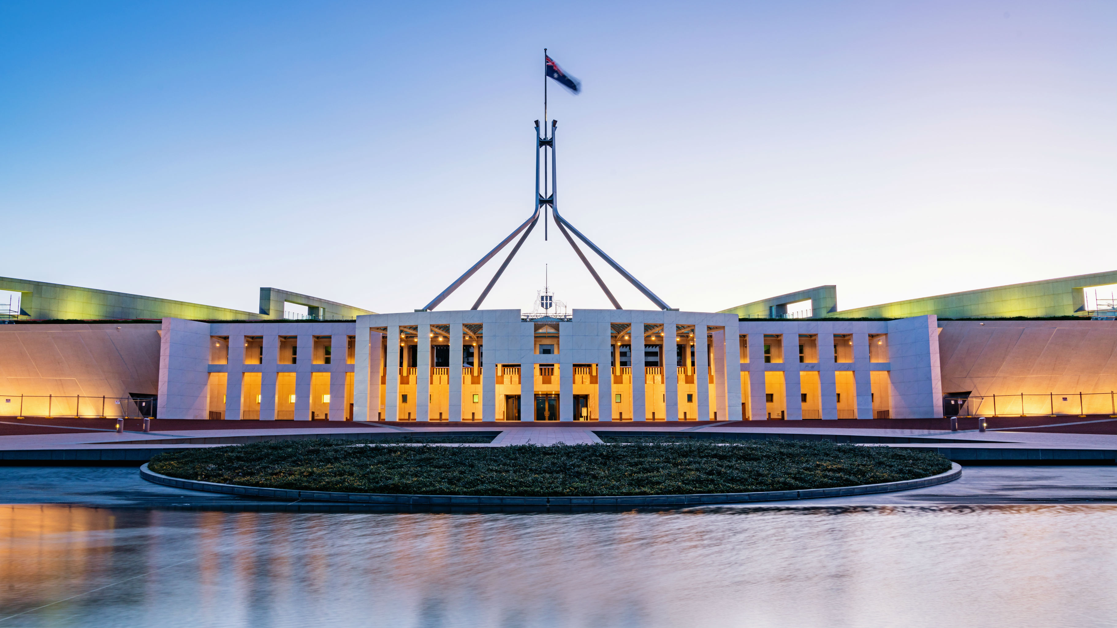 The Australian Parliament's computer network has been attacked. (Photo / Getty)
