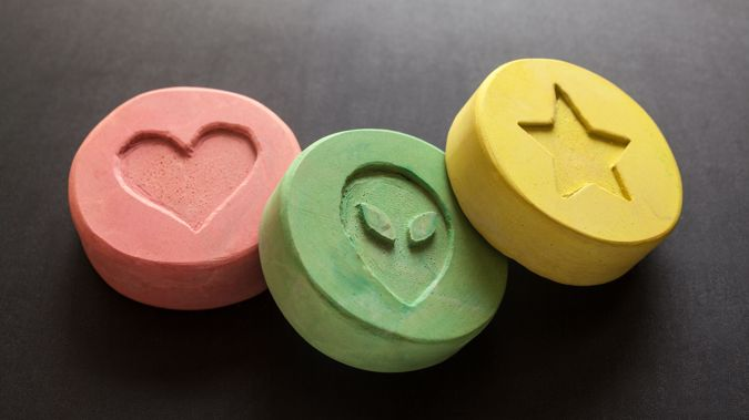 Dr Noller said some of the most popular illegal substances with students are cannabis, MDMA and LSD. Photo / Getty Images