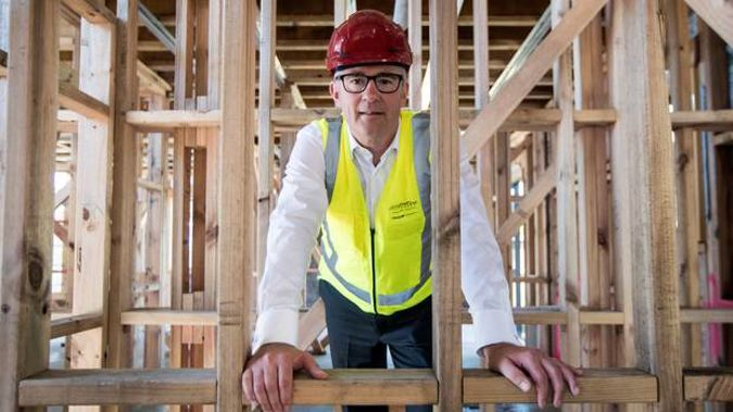 Phil Twyford made the announcement this morning. (Photo / NZ Herald)