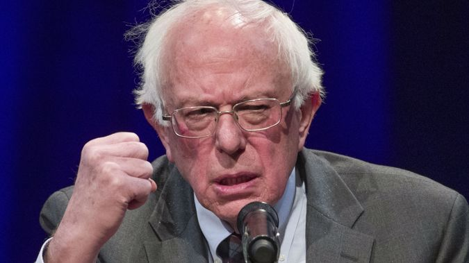Bernie Sanders lost the Democratic nomination to Hillary Clinton last election. (Photo / AP)