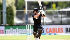 Ross Taylor yesterday broke Stephen Fleming's record. (Photo / NZ Herald)