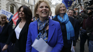 UK politics fractures further as Conservatives quit party