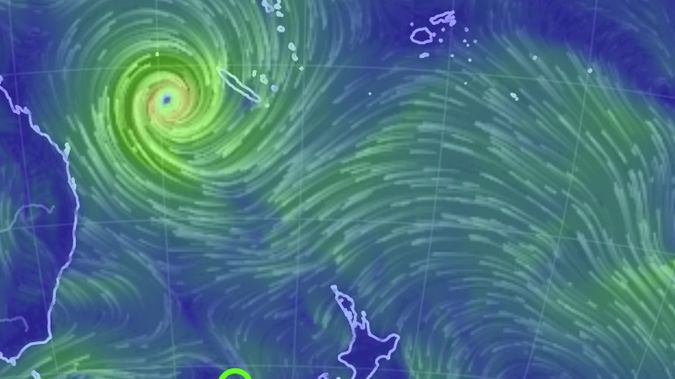Cyclone Oma is bringing back weather to Australia and New Zealand.