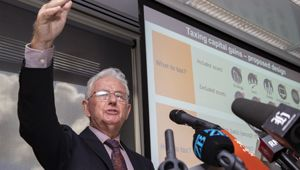 Sir Michael Cullen chaired the group that has just released its report. (Photo / NZ Herald)