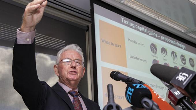 LIVE: TWG: Capital Gains Tax would lead to $8b windfall
