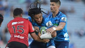 Ma'a Nonu is playing for the Blues again, but he hasn't helped them win just yet. (Photo / Getty)