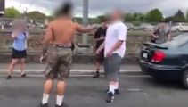 Shocking footage of West Auckland school fight involving a machete