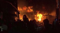 Fire in old part of Bangladesh's capital kills at least 45