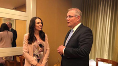 Barry Soper: Aussie Prime Minister Scott Morrison touches down in Auckland