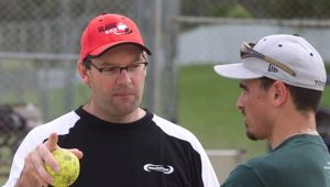 Former Black Sox coach and NZR high performance manager Don Tricker in 2001. Photo / Mark Mitchell