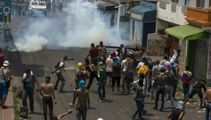 Protesters killed during Venezuelan border clash