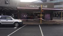 Jewellery stolen after Michael Hill store ram raided