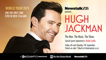 Hugh Jackman's 'The Man. The Music. The Show' coming to NZ!