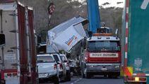 'Damage everywhere' says triple fatal crash witness