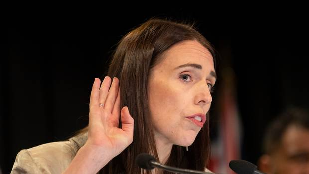 Prime Minister Jacinda Ardern during her post-Cabinet press conference at Parliament, Wellington. Photo / Mark Mitchell
