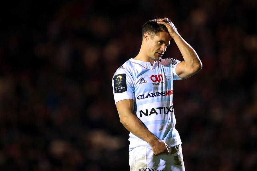 Dan Carter's Racing return off