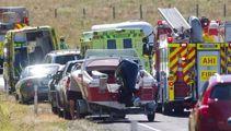 One dead after car versus motorbike crash near Rotorua