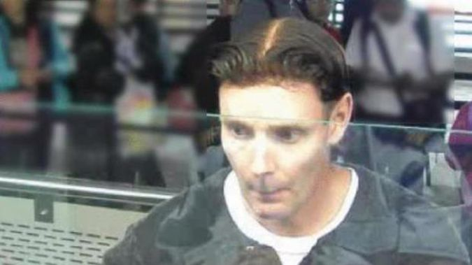 Phillip John Smith infamously wore a toupee while fleeing the country. (Photo / Police)