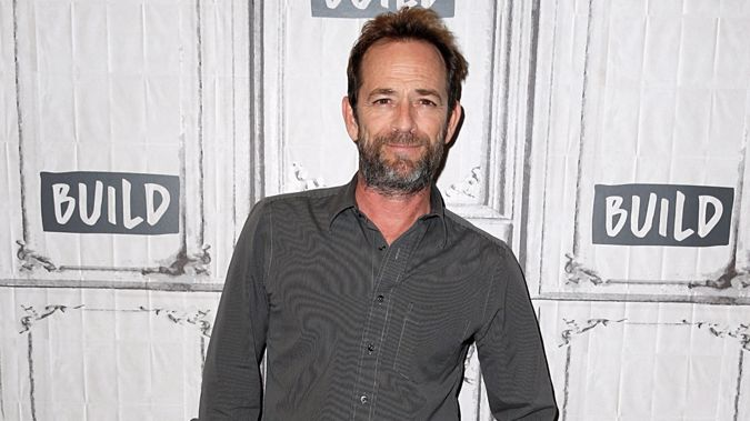 Luke Perry. Photo / Getty Images