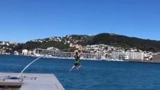 Hunter Macdonald gets community work for breaking Wellington waterfront Len Lye sculpture