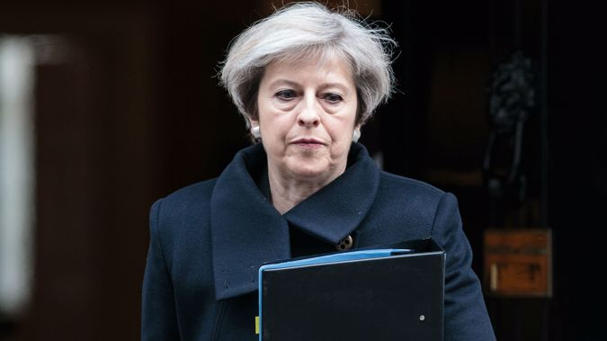 Theresa May. Photo / Getty Images