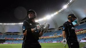The Black Caps are number two in the world according to the ICC. (Photo / NZ Herald)