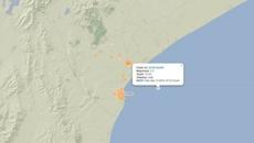 Earthquake near Timaru causes weak shaking