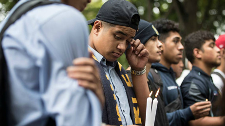 Lydia Clarke: Outpouring of emotion as Cashmere High School students pay tribute