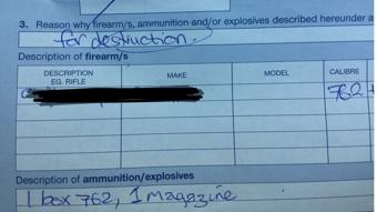 Kiwi farmer surrenders gun after Christchurch terror attack