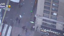 Manhattan shooting: Three shot, one dead