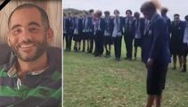 Watch: School's powerful tribute mosque attack victim