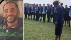 St Thomas of Canterbury College performs moving haka tribute to mosque victim