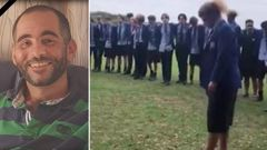 School who lost old boy in Christchurch attacks performs spine-tingling haka