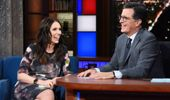 Jacinda Ardern was a guest on the talk show last year. (Photo / Supplied)