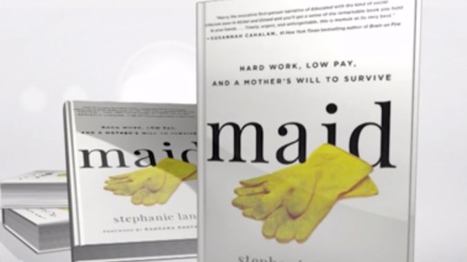 Stephanie Land discusses her new book Maid