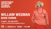 Win a VIP Experience at Christchurch Art Gallery with William Wegman's Being Human