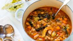 Mike van de Elzen: Ribollita soup with lemon parmesan butter