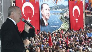 Turkish President Recep Tayyip Erdogan. Photo / AP.