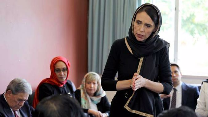 Ardern's decision to call the attack an act of terror has gone against the grain. (Photo / NZ Herald)