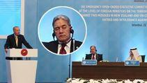 Winston Peters denies sleeping during Turkish meeting