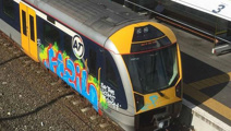 Christchurch tribute graffiti removal on train costs taxpayers $3000
