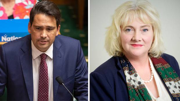 Simon Bridges' deputy chief of staff and former Chief Families Commissioner Belinda Milnes (right) will face technical assault and wilful trespass charges in court. (Photos / Mark Mitchell / Supplied)