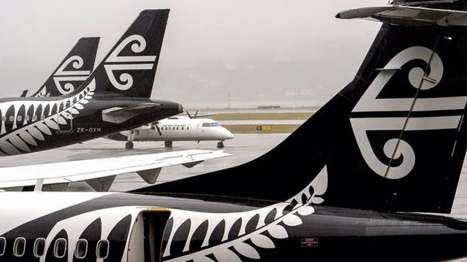 Air New Zealand has put off $750 million of new aircraft orders and embarked on a two-year cost-cutting programme designed to save more than $60m following a sharp fall in profit.