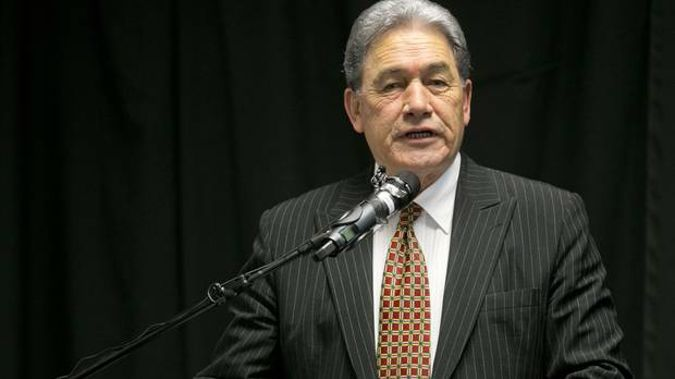 New Zealand First leader Winston Peters. Photo / Alan Gibson