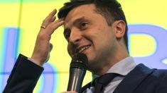 Ukraine comedian leads presidential election