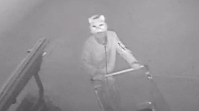 The man is being sought by police over an arson. (Photo / Police)