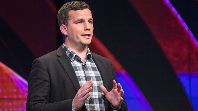 David Seymour was too busy talking to media when the vote happened. (Photo / Getty)