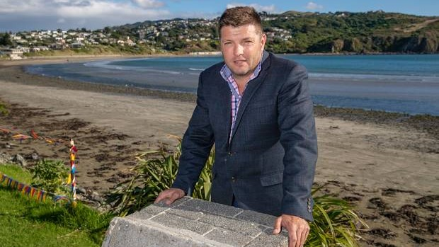 Afghanistan war veteran Simon Strombom has drawn a backlash from older veterans after he invited a Muslim cleric to pray at this year's Anzac Day service on Titahi Bay Beach. Photo / Mark Mitchell