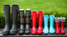 Time to wear your gumboots to work!