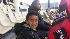 Ezekiel Loua, 12, and his uncle Fulumoa Daly died in Christchurch fatal crash on Friday morning. (Photo / Supplied, Aisi Tanielu-Loua)